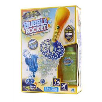 Bubble Club Stomp Rocket with Bubble Solution