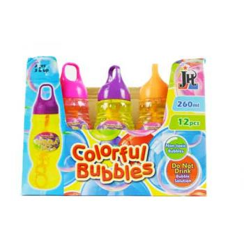 260ml Bubble Mix ( ONLY SOLD in display of 12 )