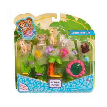 Jungle In My Pocket 15pc Playset
