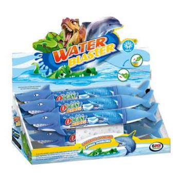 Water Shooter 50cm - Shark (can be sold in display of 6)