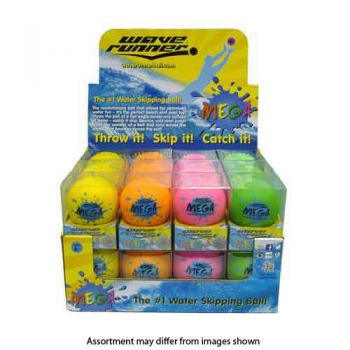 Waverunner 9cm Mega Ball assorted ( can be sold in display of 24 )