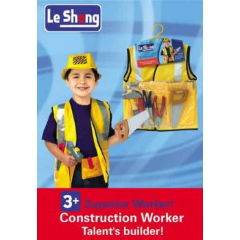 Dress Up - Construction ( was RRP $39.99 )