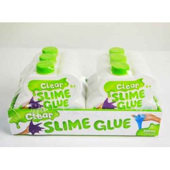 Clear Slime Glue 500ml ( ONLY SOLD in display of 6 )