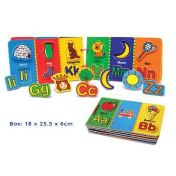 Fun Factory Magnetic Alphabet Book