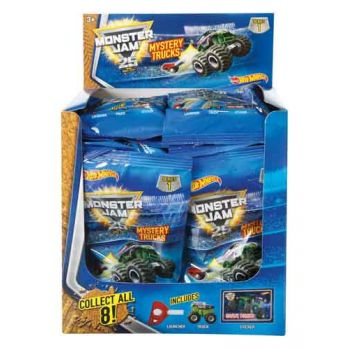 Hot Wheels Monster Jam Mighty Minis Blind Pack assorted ( ONLY SOLD in display of 24 )