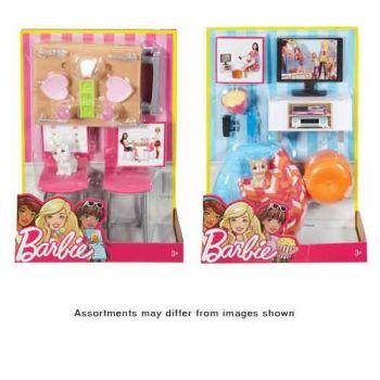 Barbie Indoor Furniture assorted