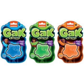 Gak Glow in the Dark Mini assorted ( ONLY SOLD in display of 18 )