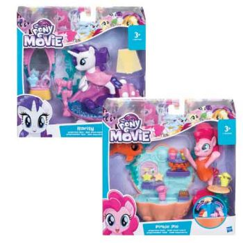 My Little Pony Movie Undersea Scene Pack assorted