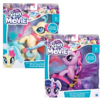My Little Pony Movie Glitter & Style Seapony assorted