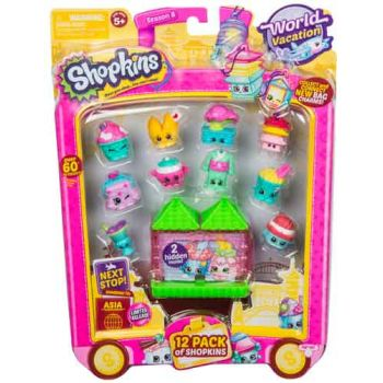Shopkins Series 8 Wave 2 ASIA 12 pack assorted