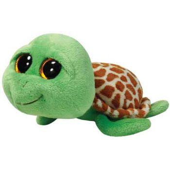 Ty Beanie Boos Regular - Zippy Green Turtle