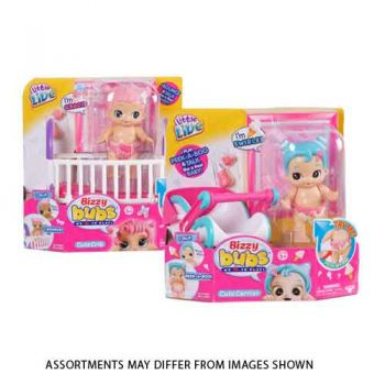 Little Live Bizzy Bubs Playset Assorted