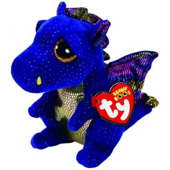 Ty Beanie Boos Regular - Saffire Blue Dragon