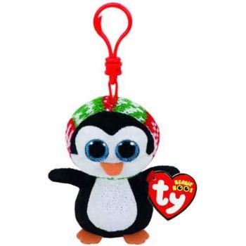 Ty Beanie Boos Clips - XMAS Penelope Penguin