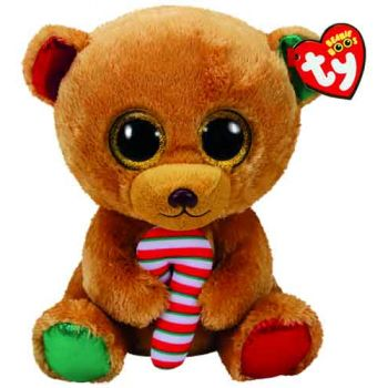 Ty Beanie Boos Regular - CHRISTMAS Bella Bear