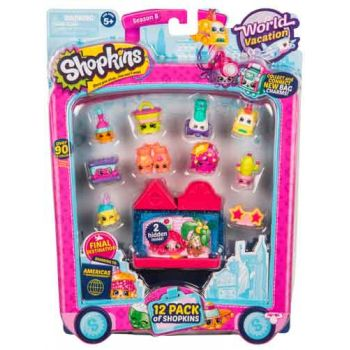 Shopkins Series 8 Wave 3 USA 12 pack assorted