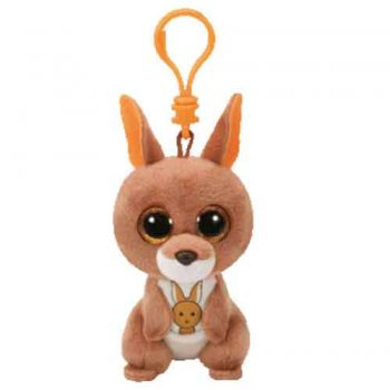 Ty Beanie Boos Clips - Kipper Brown Kangaroo
