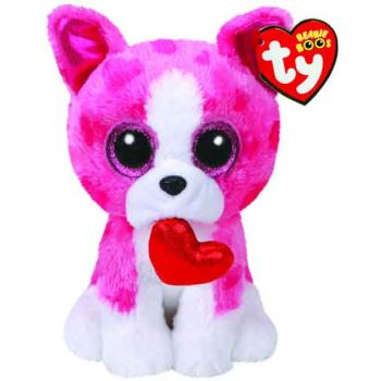 Ty Beanie Boos Regular  - Romeo Dog ( was RRP $9.99 )