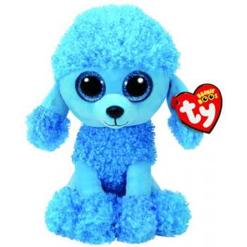 Ty Beanie Boos Medium - Mandy Blue Poodle ( was RRP $19.99 )