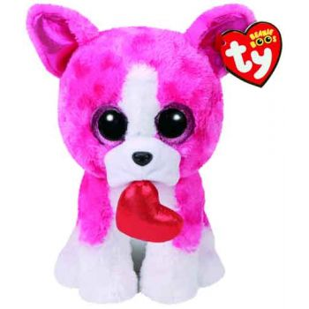Ty Beanie Boos Medium - Romeo Dog
