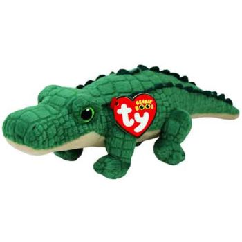 Ty Beanie Boos Regular - Spike Green Alligator ( was RRP $9.99 )