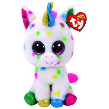 Ty Beanie Boos Medium - Harmonie Speckled Unicorn