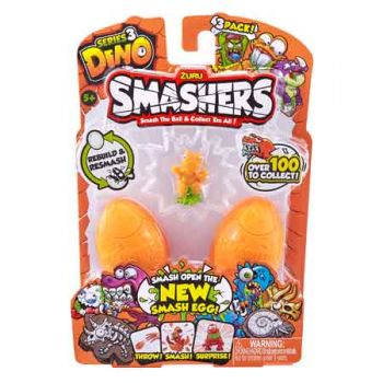 Smashers Dino 3Pk  ( ONLY SOLD in Display of 12 )