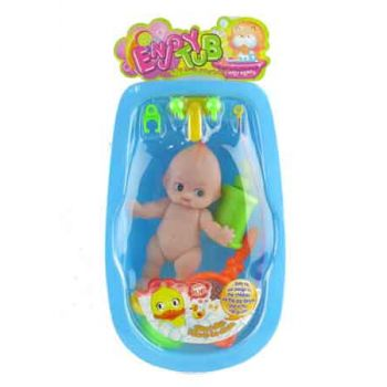 Doll Baby Bath Tub Set asorted