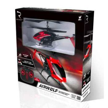 Revolt Radio Control Airwolf Helicopter with Auto Hover