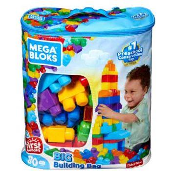 Mega Blox 80pce Building Bag